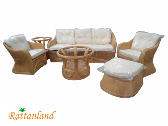 Rattan Core Living Set
